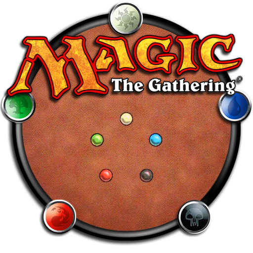logo del gioco di carte collezionabili magic the gathering