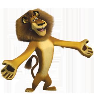 alex il leone peluche di madagascar