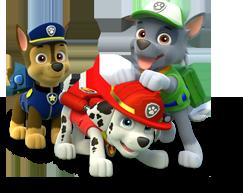 gli eroici cuccioli di peluche pow patrol
