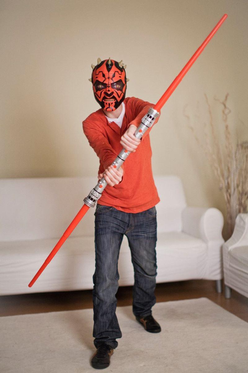 spade laser estenibili giocattolo star wars