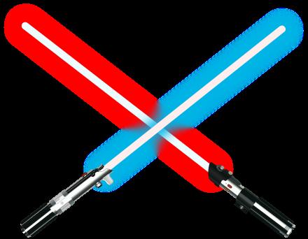 spade laser estendibili illuminate